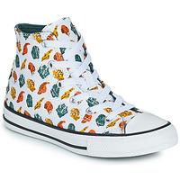 Shoes Children High top trainers Converse CHUCK TAYLOR ALL STAR DINO DAZE HI White / Green / Orange