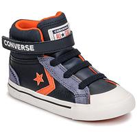 Shoes Children High top trainers Converse PRO BLAZE STRAP LEATHER TWIST HI Blue