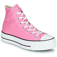 Shoes Women High top trainers Converse CHUCK TAYLOR ALL STAR LIFT SEASONAL COLOR HI Pink