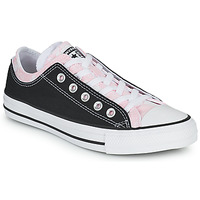 Shoes Women Low top trainers Converse CHUCK TAYLOR ALL STAR DOUBLE UPPER HYBRID FLORAL OX Black