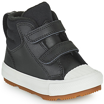 Shoes Children High top trainers Converse CHUCK TAYLOR ALL STAR BERKSHIRE BOOT SEASONAL LEATHER HI Black