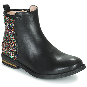 Shoes Girl Mid boots Acebo's 9917VE-NEGRO-T Black