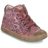 Shoes Girl High top trainers Acebo's 5533EL-GRANADA Pink