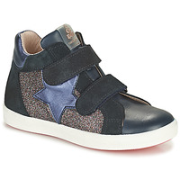 Shoes Girl High top trainers Acebo's 5541SX-MARINO Marine