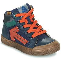 Shoes Boy High top trainers Acebo's 5567-MARINO-I Marine