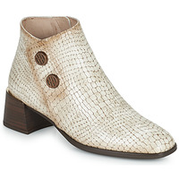 Shoes Women Ankle boots Hispanitas ALEXA Ecru