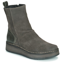 Shoes Women Mid boots Fly London RENO Grey