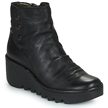 Shoes Women Ankle boots Fly London BROM Black