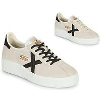 Shoes Women Low top trainers Munich BARRU SKY Beige / Black