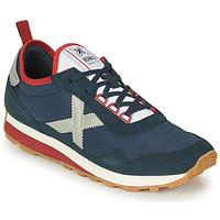 Shoes Men Low top trainers Munich UM Blue / Grey / Red