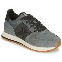 Shoes Men Low top trainers Munich MASSANA Grey / Black