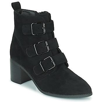 Shoes Women Ankle boots Moony Mood PAOLA Black