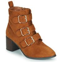 Shoes Women Boots Moony Mood PAOLA Camel