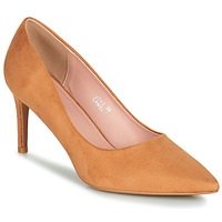 Shoes Women Court shoes Moony Mood PEROLINE Camel
