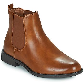 Shoes Women Mid boots Moony Mood PIRYL Camel