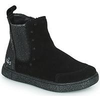 Shoes Girl Mid boots Mod'8 BLANOU Black / Glitter
