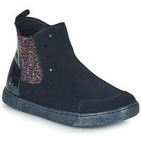 Shoes Girl Mid boots Mod'8 BLANOU Marine