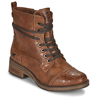 Shoes Women Mid boots Mustang 1293501 Brown