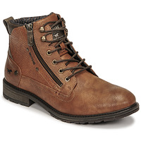 Shoes Men Mid boots Mustang 4140501 Cognac