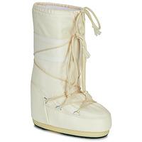 Shoes Women Snow boots Moon Boot MOON BOOT ICON NYLON Cream
