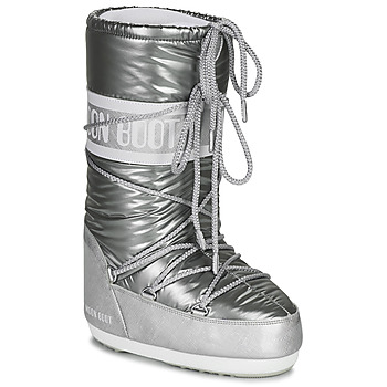 Shoes Women Snow boots Moon Boot MOON BOOT ICON PILLOW Silver