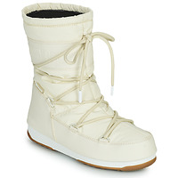 Shoes Women Snow boots Moon Boot MOON BOOT MID RUBBER WP Cream