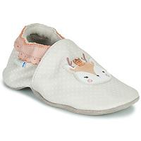 Shoes Girl Baby slippers Robeez FANCY SNOW Beige