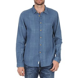 material Men long-sleeved shirts Fa?onnable JJMCT502000ERE Blue