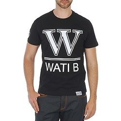 material Men short-sleeved t-shirts Wati B TEE Black