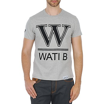 material Men short-sleeved t-shirts Wati B TEE Grey