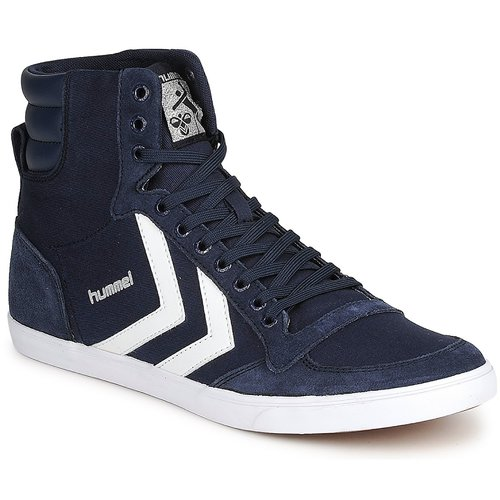Shoes High top trainers Hummel TEN STAR HIGH CANVAS Marine