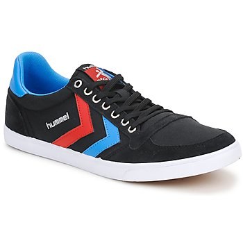 Shoes Low top trainers Hummel TEN STAR LOW CANVAS Black
