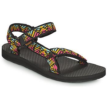 Shoes Women Sandals Teva ORIGINAL UNIVERSAL Black / Multicoloured