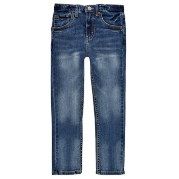 material Boy Skinny jeans Levi's 510 SKINNY FIT EVERYDAY PERFORMANCE JEANS Blue / Dark