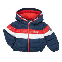 material Boy Duffel coats Levi's COLORBLOCK JACKET Red / Et  / White