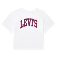 material Girl short-sleeved t-shirts Levi's SSRGLANHGHRISETESHIRT White