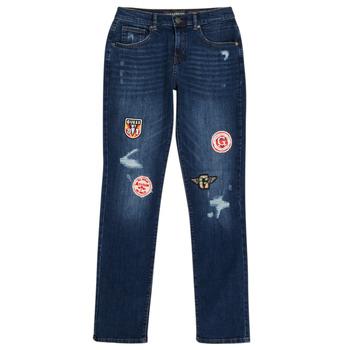 material Boy slim jeans Guess CLASMI Blue