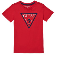 material Boy short-sleeved t-shirts Guess THERONN Red