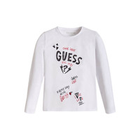 material Girl Long sleeved shirts Guess FEET White