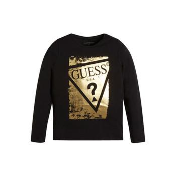 material Girl Long sleeved shirts Guess UPSET Black