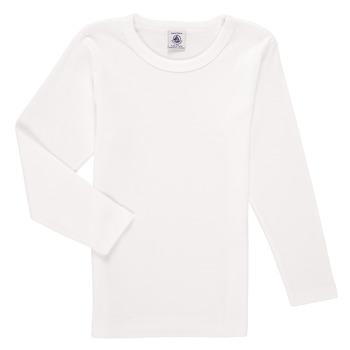 material Boy Long sleeved shirts Petit Bateau KELOMA White