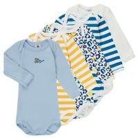 material Boy Sleepsuits Petit Bateau FEDDY Multicolour