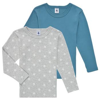 material Boy Long sleeved shirts Petit Bateau HOQUIN Multicolour