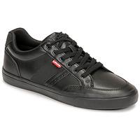 Shoes Men Low top trainers Levi's TURNER 2.0 Black