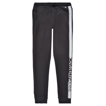 material Boy Tracksuit bottoms Calvin Klein Jeans RESPIRA Black