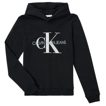 material Children sweaters Calvin Klein Jeans TRINIDA Black