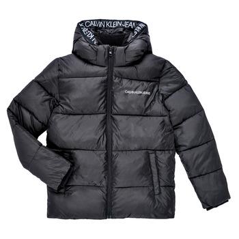 material Boy Duffel coats Calvin Klein Jeans LITHERA Black