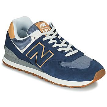 Shoes Men Low top trainers New Balance 574 Blue