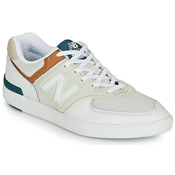Shoes Men Low top trainers New Balance AM574 White