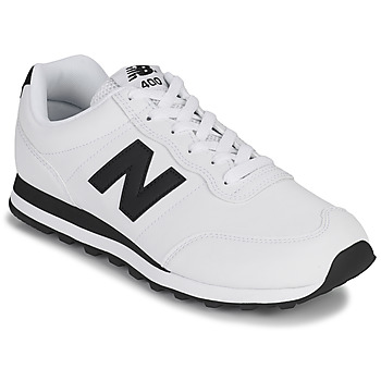 Shoes Men Low top trainers New Balance 400 White / Black